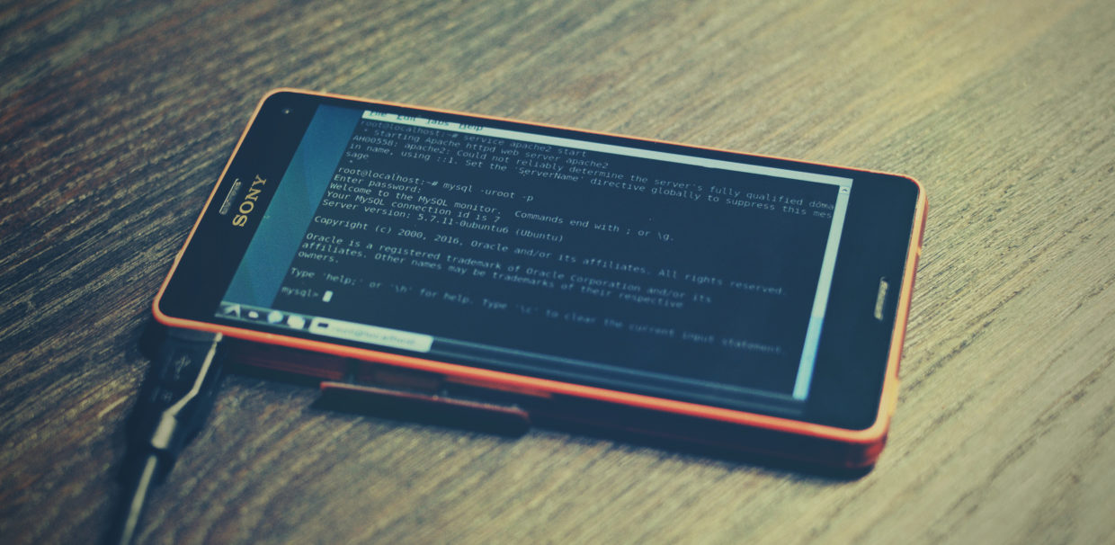 Turn your Android smartphone into a Linux web server [Part 1]